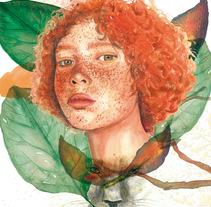 Mi Proyecto del curso: Retrato ilustrado en acuarela. Un proyecto de Bellas Artes de Sonia Salvador Luna - 19-11-2017