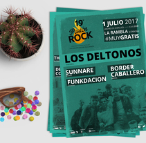Pasión Rock Festival. A Advertising, Art Direction, Br, ing, Identit, and Graphic Design project by Inma Gómez         - 12.05.2015
