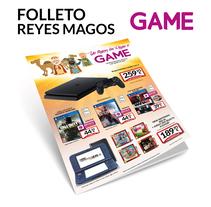 Folleto Reyes Magos GAME. A Graphic Design project by Fernando Escolar López-Roso - 29-11-2017