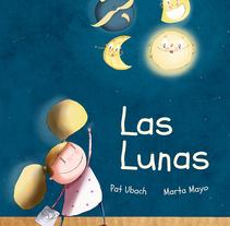 Las lunas. Um projeto de Ilustração, Design editorial e Multimídia de Marta  Mayo Martín - 30-11-2017