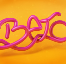 Lettering Name. A Illustration, 3D, Graphic Design, and Lettering project by Jose Roberto Monje Flores         - 30.11.2017