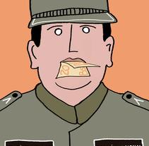 Es Fácil callar A Un Policía . Un proyecto de Ilustración y Diseño gráfico de Daniel Uria         - 01.12.2017