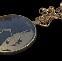 3D pocket clock. A 3D project by Àlex Chiva Matamoros         - 30.11.2017