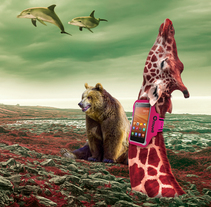 Beast Generation (Fotomontajes). A Art Direction, Collage, and Digital retouching project by Refrito Studio  - 04-06-2015