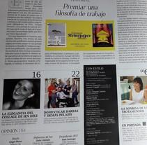 CON ESTILO # 29. Entrevista realizada por Luis Mariano Padrón Núñez JUEVES 7 DE DICIEMBRE, gratis con tu #periódico #LaOpinióndeTenerife y #LaProvincia, un nuevo número de #RevistaConEstilo http://www.laprovincia.es/suscriptor/con-estilo/. A Design, Collage, and Social Media project by Jen  Díez         - 07.12.2017
