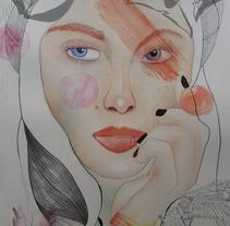 Mi Proyecto del curso: Retrato ilustrado en acuarela. A Illustration project by Mireia  - 07-12-2017