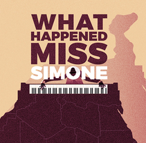 WHAT HAPPENED MISS SIMONE. A Illustration, Film, Video, and TV project by memosesmas         - 11.12.2017