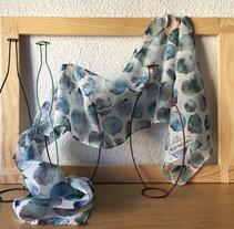 Mis diseños textiles. Un proyecto de Diseño, Ilustración, Diseño de complementos, Artesanía y Diseño de producto de Alicia Gomis         - 12.12.2017
