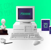 Exode- Personal brand. Um projeto de Design gráfico de Iván Soso         - 22.12.2017