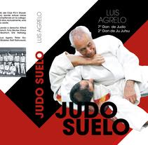 Diseño y maquetación del libro Judo suelo. Un proyecto de Diseño editorial y Diseño gráfico de Laura Bustos         - 26.12.2017
