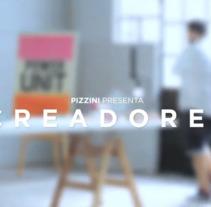 Pizzini Creadores. Un proyecto de Publicidad y Social Media de Juan Pablo Falco         - 27.12.2017