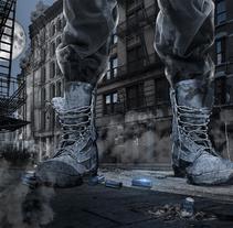 Soldado gigante. Un proyecto de Collage de Alvaro Ramos Candia         - 05.01.2018