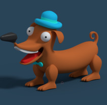 Wiener Dog. A 3D project by Hector Carrasquilla         - 05.01.2018