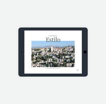 InLive iPad magazine. Un proyecto de UI / UX, Diseño editorial, Diseño gráfico y Diseño interactivo de Gemma Busquets - 09-01-2018