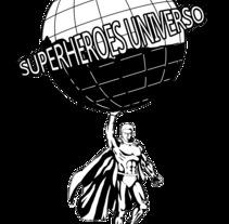 superheroes_universo. Um projeto de Design de Sergi Rovira Braulio         - 09.01.2018