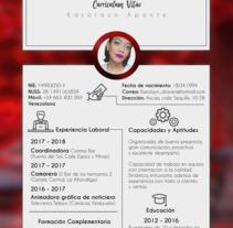 Currículum. A Animation project by Karolayn Aponte Palacios         - 19.01.2018