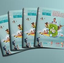 Guía turística: Escapismo natural - Provincia de Badajoz. Um projeto de Fotografia, Consultoria criativa e Design editorial de Alfonso         - 19.01.2018