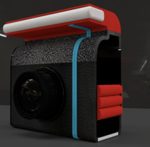 Gadget - Camera. A 3D, Accessor, Design, Graphic Design, and Web Design project by Fernando Yoris         - 28.01.2018