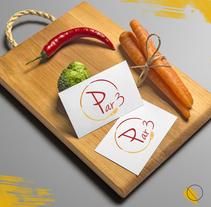 """""""Par 3"""", buena comida, buena bebida y buena compañía. Propuesta de diseño de marca para un restaurante.. Un proyecto de Br, ing e Identidad, Diseño gráfico y Naming de Samantha Pérez         - 01.02.2018"""