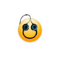 Emoji - Music make me happy. Un proyecto de Ilustración de Junio Hazar         - 02.02.2018
