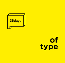 36 Days Of Type, #04 Distypersion.. A Motion Graphics, Art Direction, Graphic Design, T, and pograph project by Álvaro Melgosa         - 03.02.2018