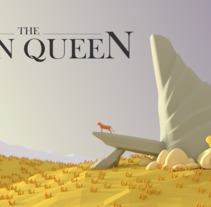 LOW POLY SCENE- THE LION QUEEN. A Illustration, and 3D project by Catuxa Barreiro         - 04.02.2018