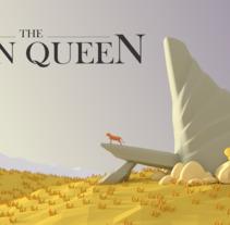 LOW POLY SCENE- THE LION QUEEN. Um projeto de Ilustração e 3D de Catuxa Barreiro         - 04.02.2018