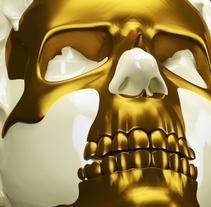 skull. A 3D project by ENMANUEL RONDON         - 07.02.2018