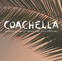 Diseño Web - COACHELLA FESTIVAL. A Graphic Design, Interactive Design, and Web Development project by Adriana Anaya         - 09.02.2018