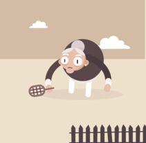 Abuela Tenista. Un proyecto de Animación de Hugo Puente         - 18.02.2018