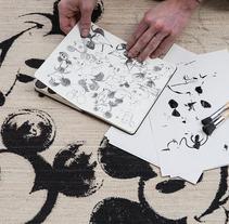 Disney X Nanimarquina Rug. A Design&Illustration project by Julien Missiaen         - 19.02.2018