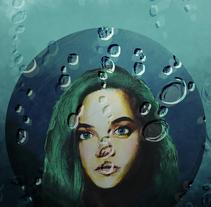 Retrato ilustrado 4. A Illustration, and Graphic Design project by Daniel Fernando Figueroa Infante         - 20.02.2018