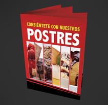 Menú de Postres - Sushi Factory 2013. Um projeto de Design gráfico de Paola Villegas         - 21.02.2018
