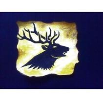 Pequeño art del emblema Baratheon. Un proyecto de Ilustración de Daniel Moguel del Río         - 21.02.2018