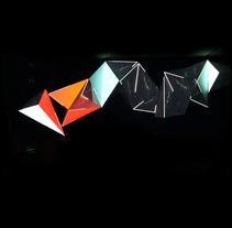 Visual Installation IZ2 at Insular Zone, Club Panams, Barcelona.. A Installations, and Video project by Joan Martínez Gaixa         - 22.02.2018