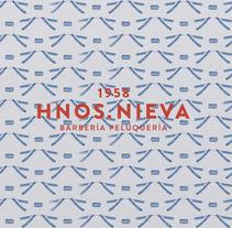 Hnos Nieva . Um projeto de Direção de arte, Br, ing e Identidade e Design gráfico de Pablo Alcaraz         - 25.02.2018