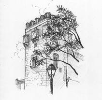 Alcalá de Henares sketchbook #5. Um projeto de Ilustração de Chema G. Baena Art         - 27.02.2018