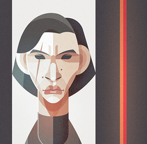 'Kylo Rent'. A Illustration, and Vector illustration project by Ricardo Polo López         - 07.03.2018