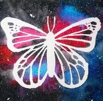 Mariposas y mandalas. Un proyecto de Ilustración, Bellas Artes y Pintura de Marycarmen Acosta Trillo         - 10.03.2018