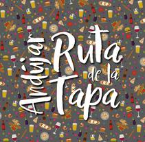 Ruta de la Tapa Andújar. Um projeto de Design e Design gráfico de Antonio Trujillo Díaz         - 09.03.2018