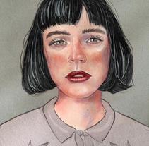 Pastel + Digital. Um projeto de Ilustração de ale_gg_         - 10.03.2018