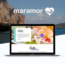 Maramor Web. A UI / UX, Cooking, Graphic Design, Interactive Design, Web Design, Web Development, and Social Media project by Hernan Jacome         - 10.12.2017