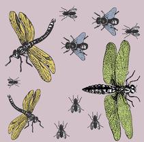 Insectos: Diseño de estampados textiles. Um projeto de Diseño de patrones de d_cuevasr         - 21.03.2018