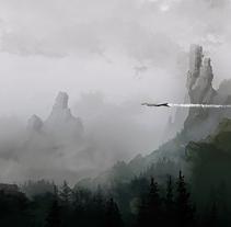 Over the Woods. Um projeto de Ilustração de Juan Pérez Soler         - 28.03.2018