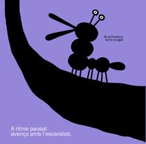 Blat l'escarabat . Un proyecto de Diseño, Ilustración, Animación y Animación de personajes de Hernán en H         - 03.04.2018