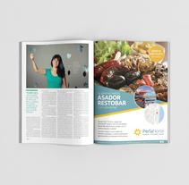 Publicidad en página de revista. Balneario Perla Norte. Um projeto de Design, Publicidade, Design editorial e Design gráfico de María Paz Pagnossin         - 04.04.2018