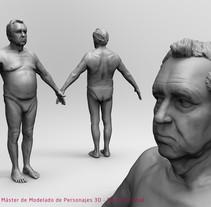 Age Study. Un proyecto de 3D de Aitor Regidor Vallcanera         - 11.04.2018