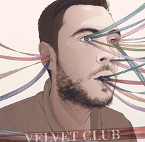 Velvet-Club. A Illustration, and Vector illustration project by Daniel Caballero         - 16.04.2018
