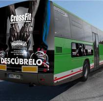 Autobus CrossFit Reebok Sports Club. Um projeto de Br e ing e Identidade de José Manuel Piñón Cubero         - 19.04.2018