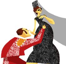 Spanish Folk | Illustration. Un proyecto de Ilustración de Guillermo Escribano         - 19.04.2018